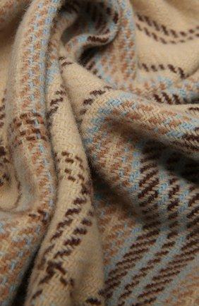 Женский шерстяной шарф ACNE STUDIOS разноцветного цвета, арт. CA0095/W | Фото 2