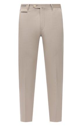 Мужские брюки из хлопка и кашемира CORNELIANI светло-бежевого цвета, арт. 874B05-1114105/02 | Фото 1