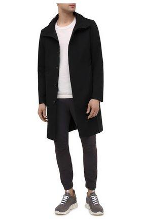 Мужские замшевые кроссовки MOMA серого цвета, арт. 4AS018-T0 | Фото 2