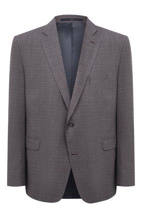 Мужской шерстяной пиджак EDUARD DRESSLER бордового цвета, арт. 7001/21001 | Фото 1