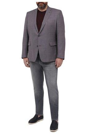 Мужской шерстяной пиджак EDUARD DRESSLER бордового цвета, арт. 7001/21001 | Фото 2