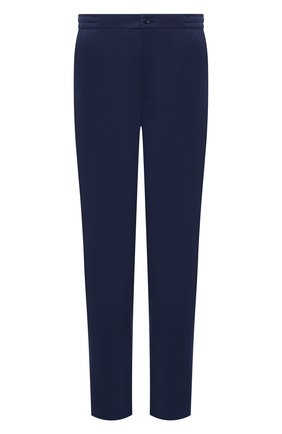 Мужские шерстяные брюки MARCO PESCAROLO синего цвета, арт. CHIAIAM/4328 | Фото 1 (Стили: Классический; Случай: Формальный; Длина (брюки, джинсы): Стандартные; Big sizes: Big Sizes; Материал внешний: Шерсть)
