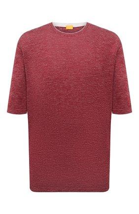 Мужской джемпер из шелка и льна SVEVO красного цвета, арт. 6406SE21L/MP64 | Фото 1