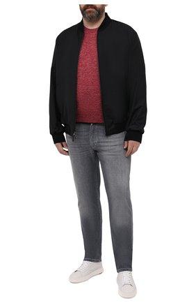 Мужской джемпер из шелка и льна SVEVO красного цвета, арт. 6406SE21L/MP64 | Фото 2