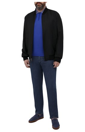Мужские джинсы CORTIGIANI синего цвета, арт. 113515/S500/0000/2930/60-70 | Фото 2