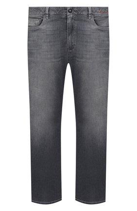 Мужские джинсы CORTIGIANI серого цвета, арт. 113521/S500/0000/6090/60-70 | Фото 1