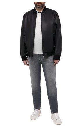 Мужские джинсы CORTIGIANI серого цвета, арт. 113521/S500/0000/6090/60-70 | Фото 2