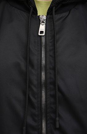 Мужской бомбер DOLCE & GABBANA черного цвета, арт. G9UJ2T/FUMNQ | Фото 5