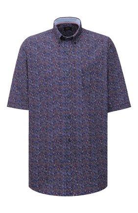 Мужская хлопковая рубашка PAUL&SHARK разноцветного цвета, арт. 21413391/C00/48-50   Фото 1