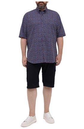 Мужская хлопковая рубашка PAUL&SHARK разноцветного цвета, арт. 21413391/C00/48-50   Фото 2
