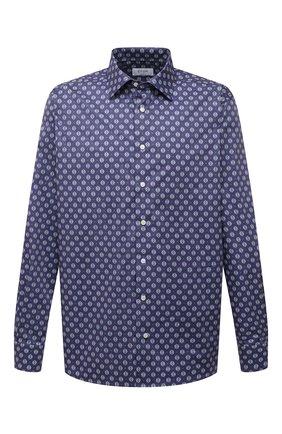 Мужская хлопковая сорочка ETON синего цвета, арт. 1000 01809 | Фото 1
