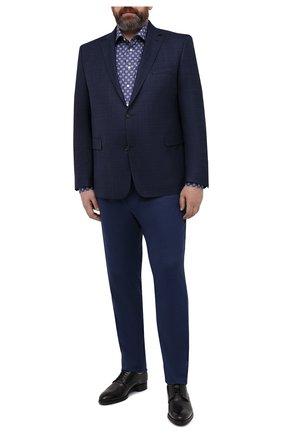 Мужская хлопковая сорочка ETON синего цвета, арт. 1000 01809 | Фото 2
