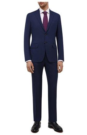 Мужской шерстяной костюм LUCIANO BARBERA темно-синего цвета, арт. 5M2014/25030 | Фото 1