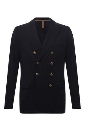 Мужской хлопковый пиджак ELEVENTY темно-синего цвета, арт. C70GIAC10 JAC25001 | Фото 1