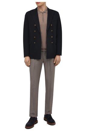 Мужской хлопковый пиджак ELEVENTY темно-синего цвета, арт. C70GIAC10 JAC25001 | Фото 2