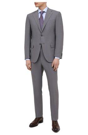 Мужской шерстяной костюм CORNELIANI светло-серого цвета, арт. 877268-1118414/92 Q1 | Фото 1