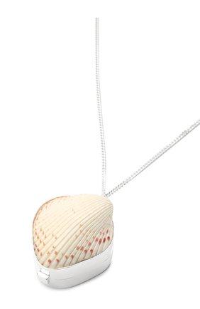 Женское кулон на цепочке JIL SANDER серебряного цвета, арт. JSPS840150/WSS85002X | Фото 3