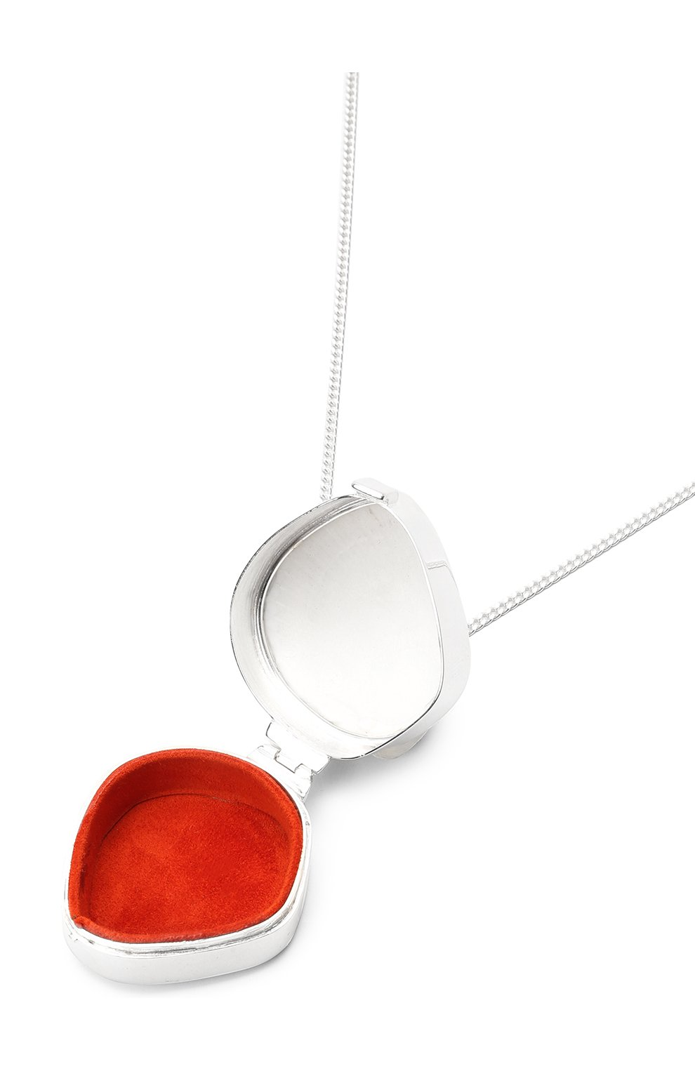 Женское кулон на цепочке JIL SANDER серебряного цвета, арт. JSPS840150/WSS85002X | Фото 4