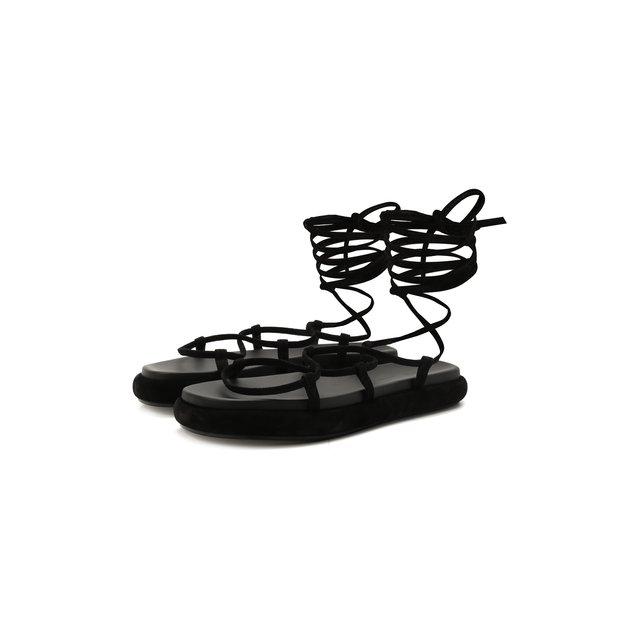 Замшевые сандалии Alba Khaite