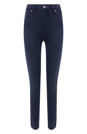 Женские джинсы PAIGE темно-синего цвета, арт. 2824521-4752 | Фото 1