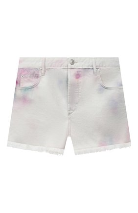 Женские джинсовые шорты ISABEL MARANT ETOILE сиреневого цвета, арт. SH0373-21P022E/LESIABB | Фото 1