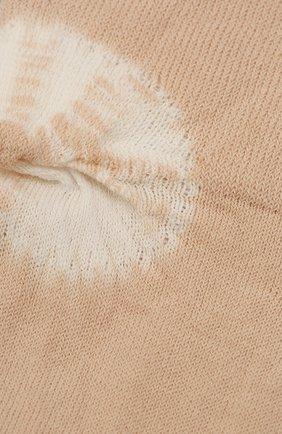 Женские хлопковые носки ANTIPAST бежевого цвета, арт. AS-201   Фото 2