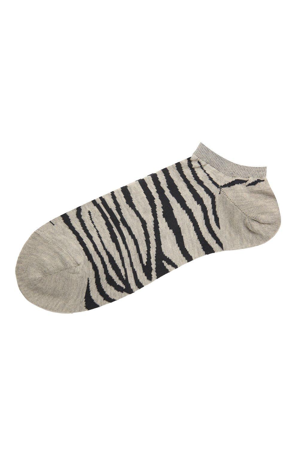 Женские хлопковые носки ANTIPAST серого цвета, арт. AS-200S   Фото 1