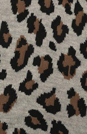 Женские хлопковые носки ANTIPAST леопардового цвета, арт. AS-200S   Фото 2