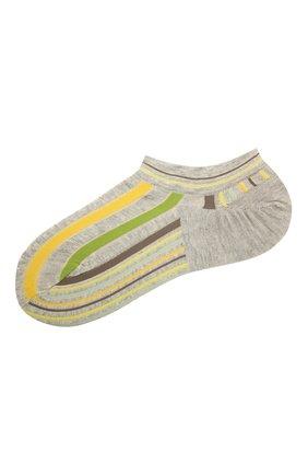 Женские хлопковые носки ANTIPAST желтого цвета, арт. AM-287AS | Фото 1