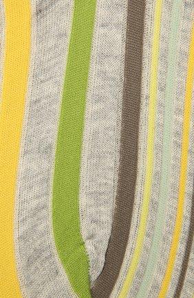 Женские хлопковые носки ANTIPAST желтого цвета, арт. AM-287AS | Фото 2