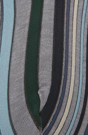 Женские хлопковые носки ANTIPAST голубого цвета, арт. AM-287AS | Фото 2