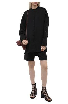 Женские кожаные ботильоны VIC MATIE черного цвета, арт. 1Z5780D.Z14X080101 | Фото 2
