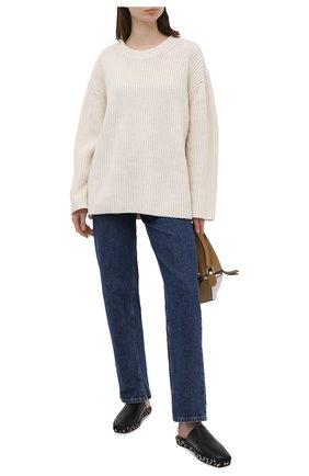 Женский шерстяной свитер BY MALENE BIRGER белого цвета, арт. Q69591005/AMICIA   Фото 2
