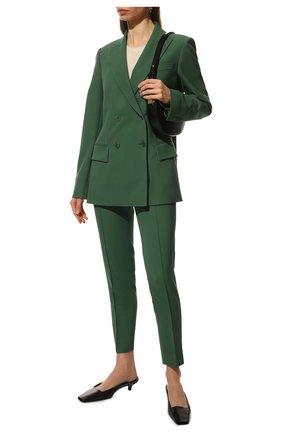 Женский шерстяной жакет LORO PIANA зеленого цвета, арт. FAL5291 | Фото 2