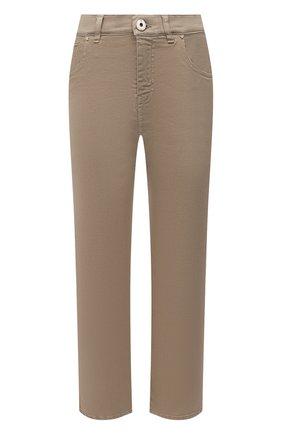 Женские джинсы LORENA ANTONIAZZI темно-бежевого цвета, арт. P2130PA019/3197 | Фото 1