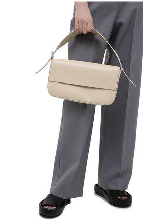 Женская сумка manu BY FAR светло-бежевого цвета, арт. 21SSMNSIVRCREMED | Фото 2