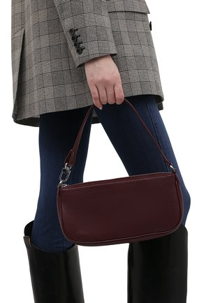 Женская сумка rachel BY FAR бордового цвета, арт. 21SSRCLSBXGRLMED   Фото 2