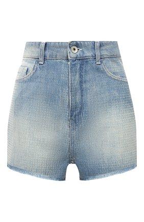 Женские джинсовые шорты EMPORIO ARMANI голубого цвета, арт. 3K2J59/2DF7Z   Фото 1