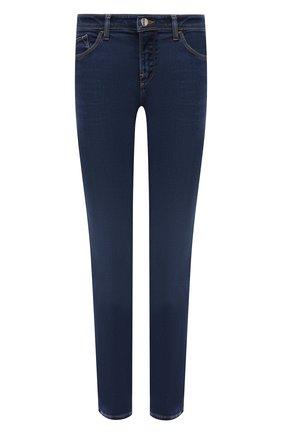 Женские джинсы EMPORIO ARMANI темно-синего цвета, арт. 3K2J28/2DG6Z   Фото 1