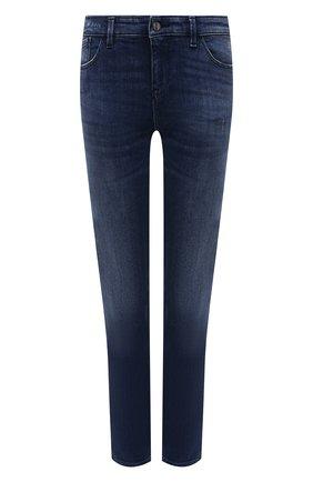 Женские джинсы EMPORIO ARMANI темно-синего цвета, арт. 3K2J23/2DD9Z   Фото 1