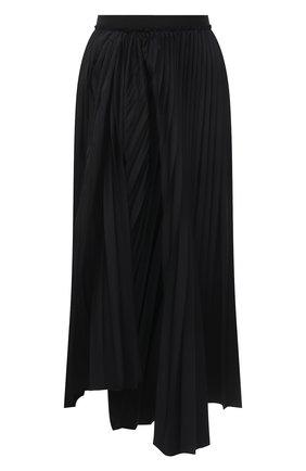 Женская плиссированная юбка MARNI черного цвета, арт. G0MA0362F0/TP690 | Фото 1
