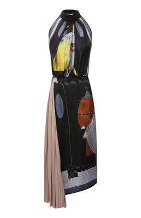 Женское шелковое платье LANVIN разноцветного цвета, арт. RW-DR337I-4844-P21 | Фото 1