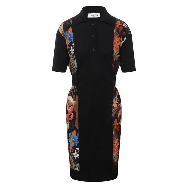 Шерстяное платье Lanvin