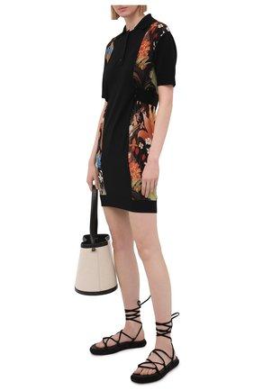 Женское шерстяное платье LANVIN черного цвета, арт. RW-DR0022-K103-E21 | Фото 2