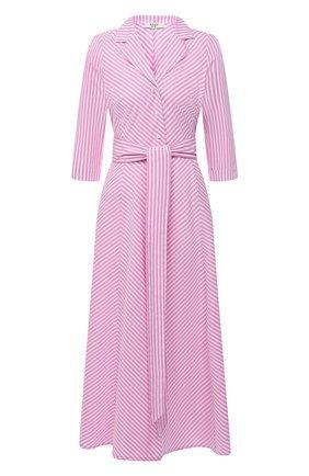Женское хлопковое платье WEILL розового цвета, арт. 145105 | Фото 1