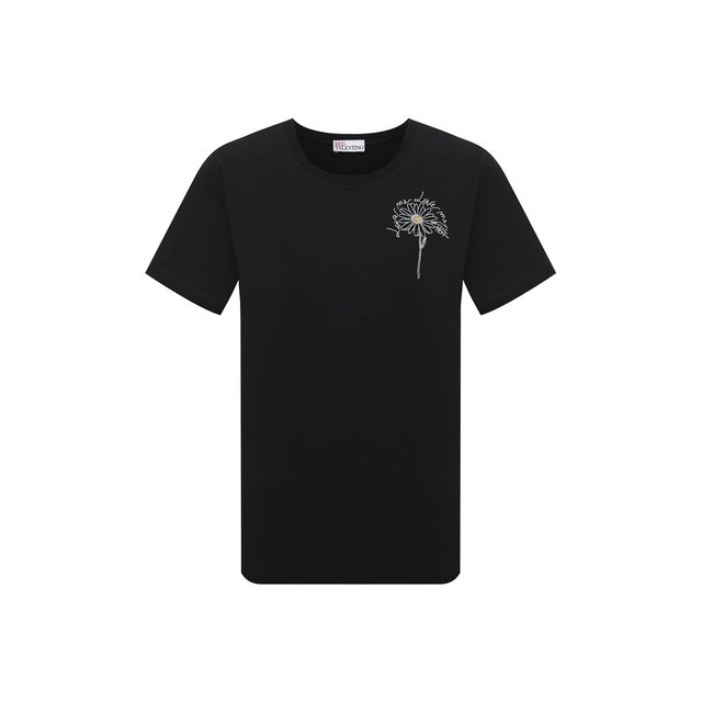 Хлопковая футболка REDVALENTINO