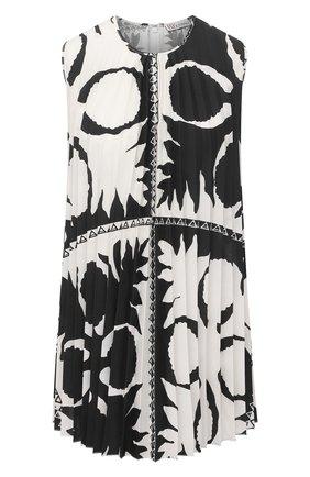 Женский топ REDVALENTINO черно-белого цвета, арт. VR0AEC70/5SA | Фото 1