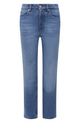 Женские джинсы AMI синего цвета, арт. E21FD010.601 | Фото 1
