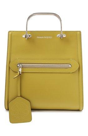 Женская сумка tall story ALEXANDER MCQUEEN зеленого цвета, арт. 656471/D78YW   Фото 1