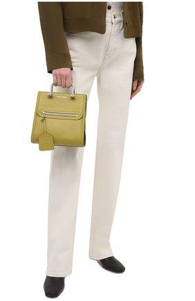 Женская сумка tall story ALEXANDER MCQUEEN зеленого цвета, арт. 656471/D78YW   Фото 2